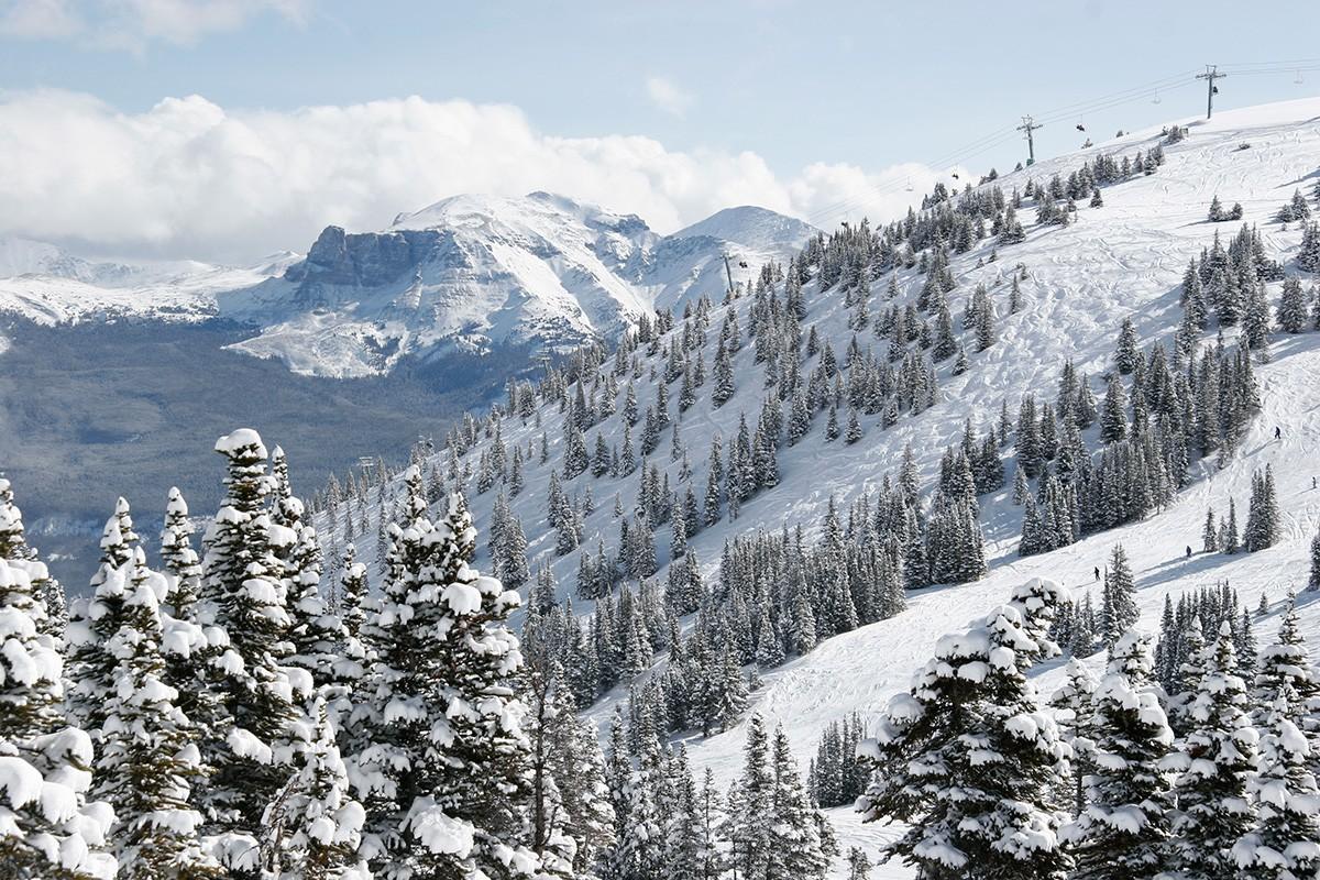 Jasper Marmot Basin scenic