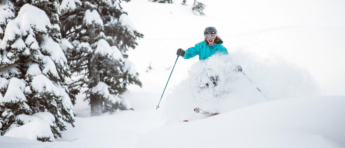 Happy Skier Whistler © Logan Swayze / Coastphoto.com
