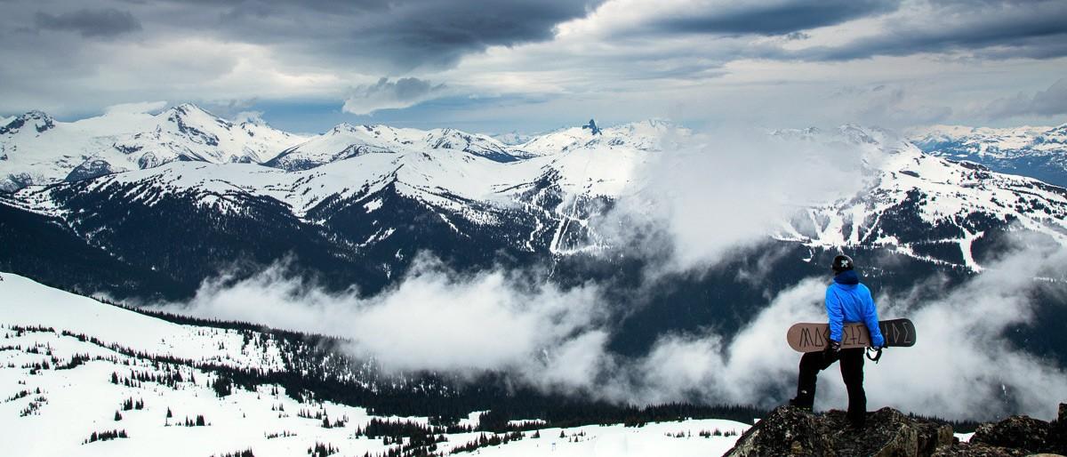 Whistler Boarder Inspiration © Mitch Winton / Coastphoto.com