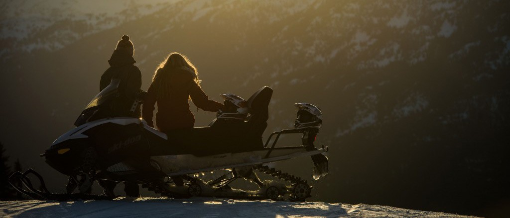 Canadian Wilderness Adventure snowmobiling