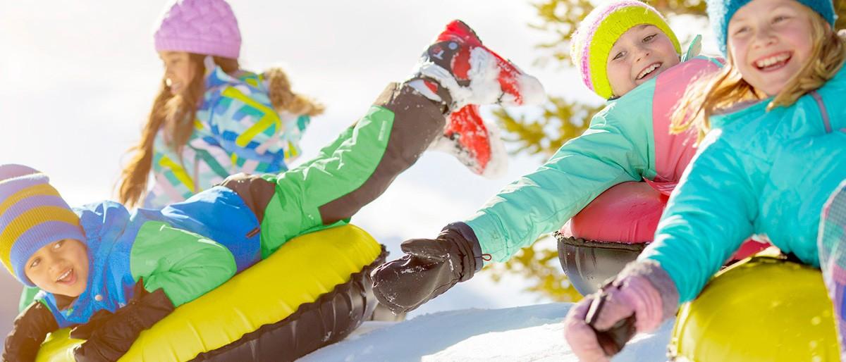 Snowmass Kids tubing © Tyler Stableford