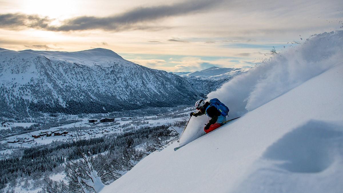 Myrkdalen Powder View © Sverre F. Hjørnevik