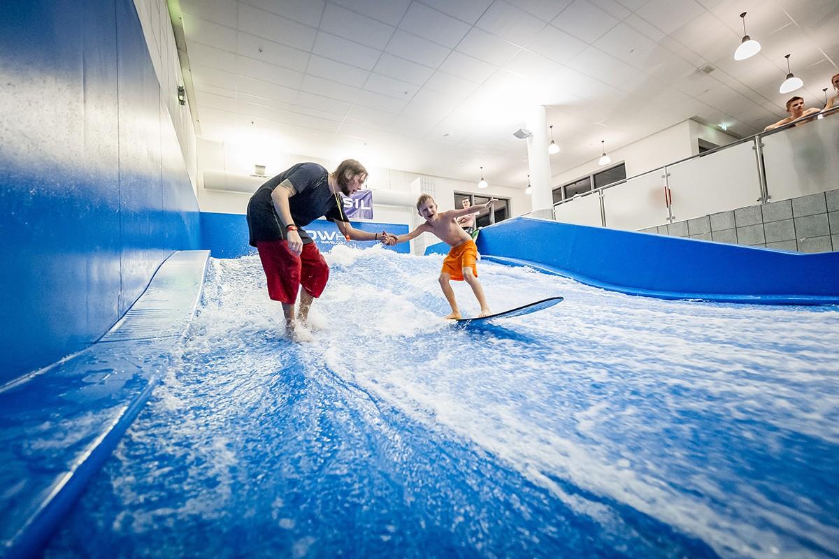 Radisson Blu Resort, Trysil - Pool Surfing Wave