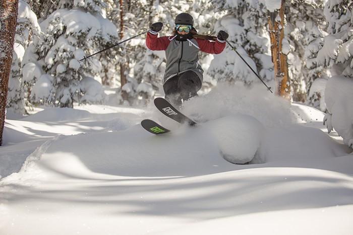 Keystone Tree Skiing © Russell Carlton, 21 Nov
