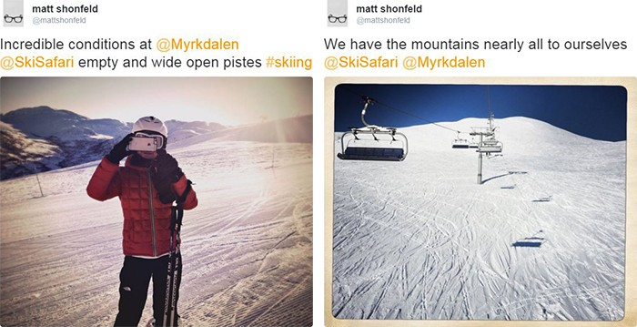 Matt Shonfeld Myrkdalen