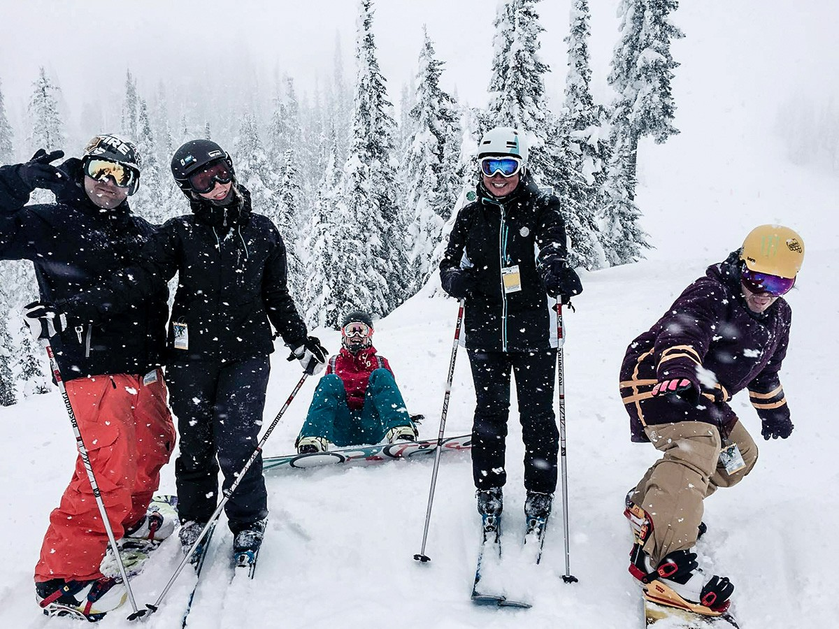 Sun Peaks with New Yorkers