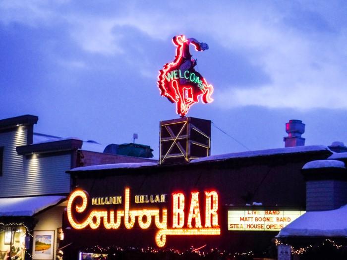 Jan Clifford - Jackson Hole Cowboy Bar