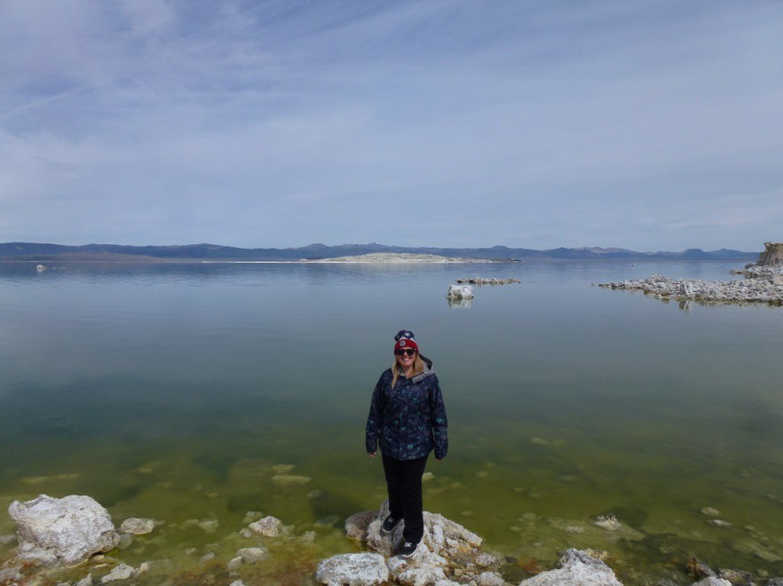 Jade at Mono Lake