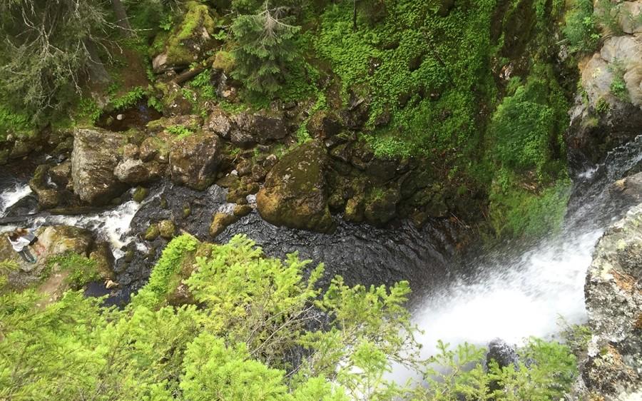 Waterfall near Vemdalen