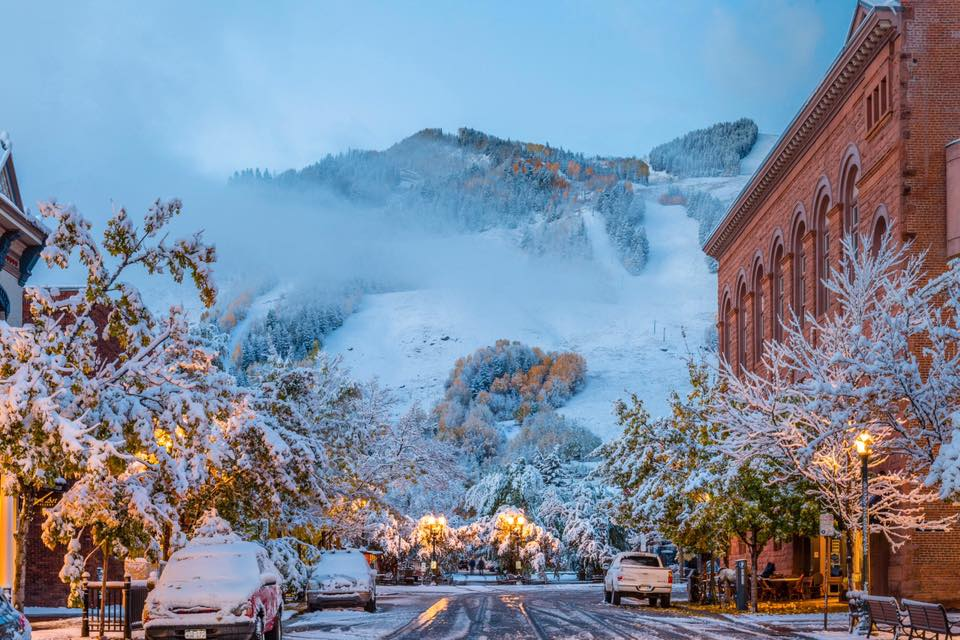 Aspen Snow October 2016 © Jeremy Swanson Photo