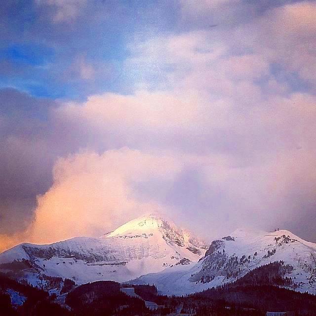 Big Sky Snow October 16 © David Siebert