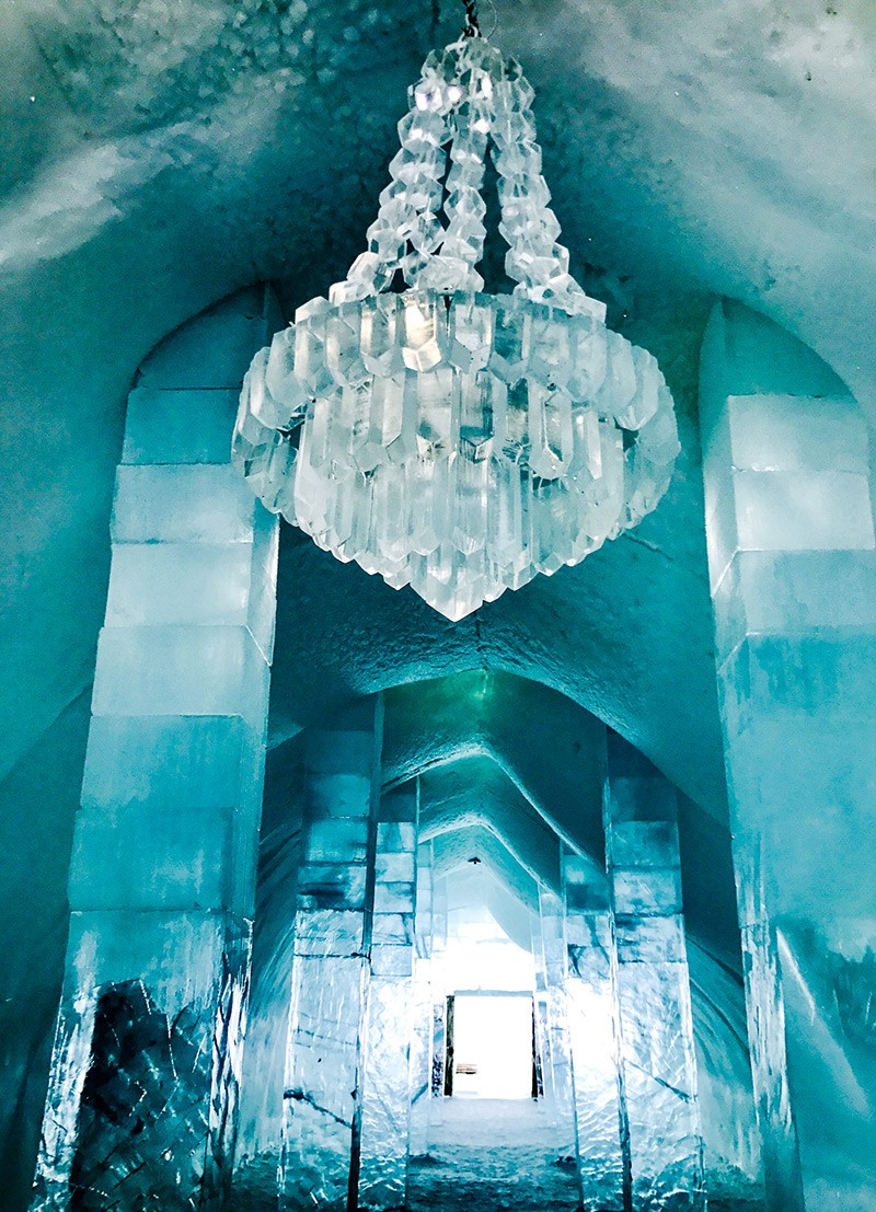ICEHOTEL Entrance Hall