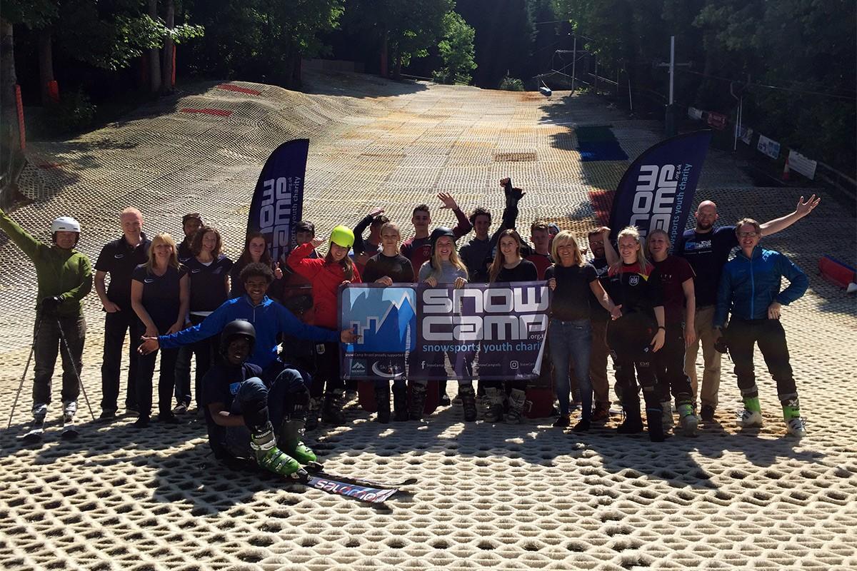 Ski Safari at the launch of Snow-Camp Bristol