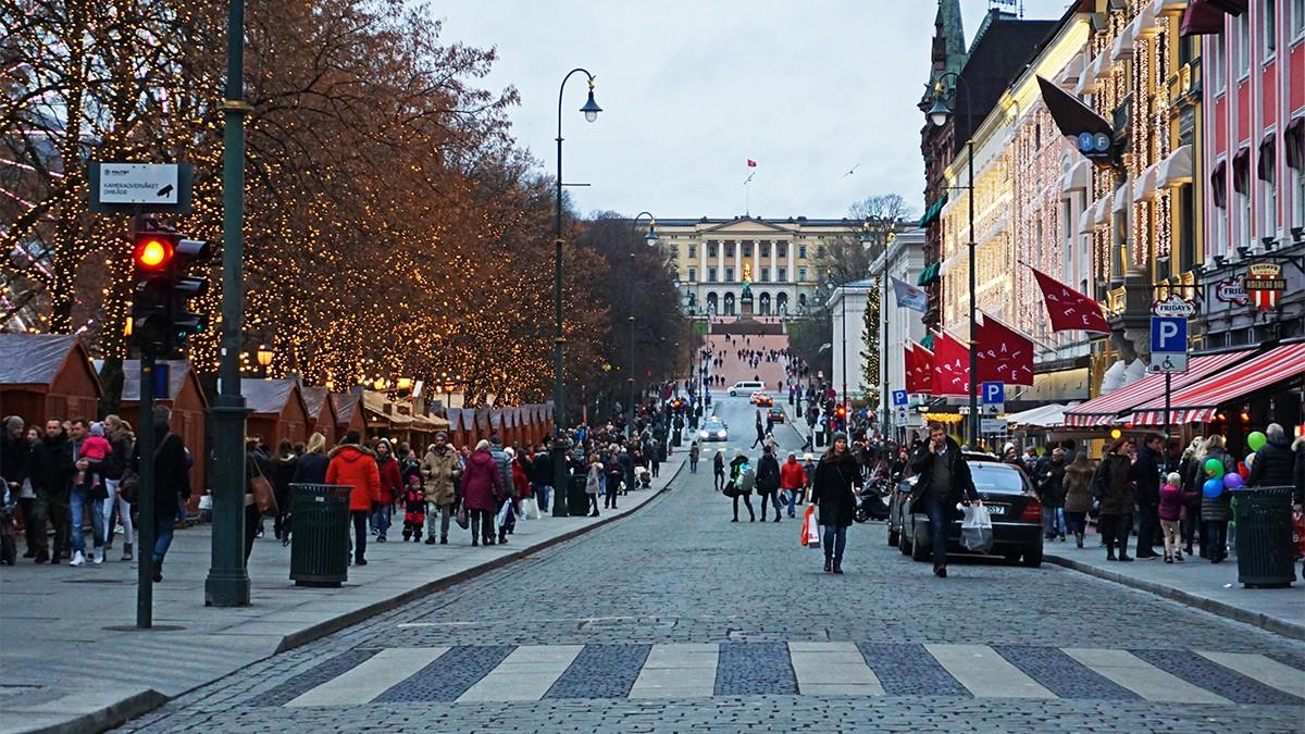 Oslo at Christmas © VISITOSLO / Tord Baklund