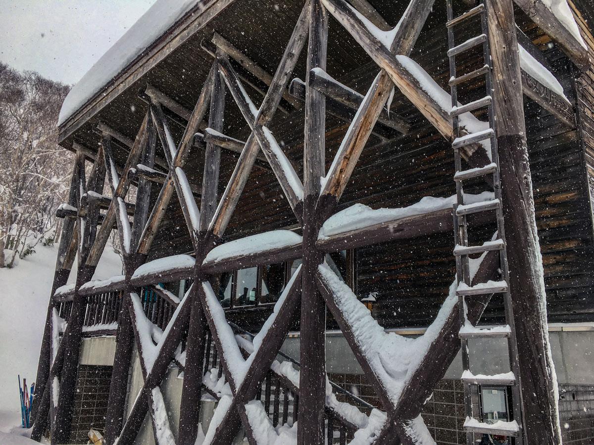 Chisenupuri Cat Skiing - Base Lodge