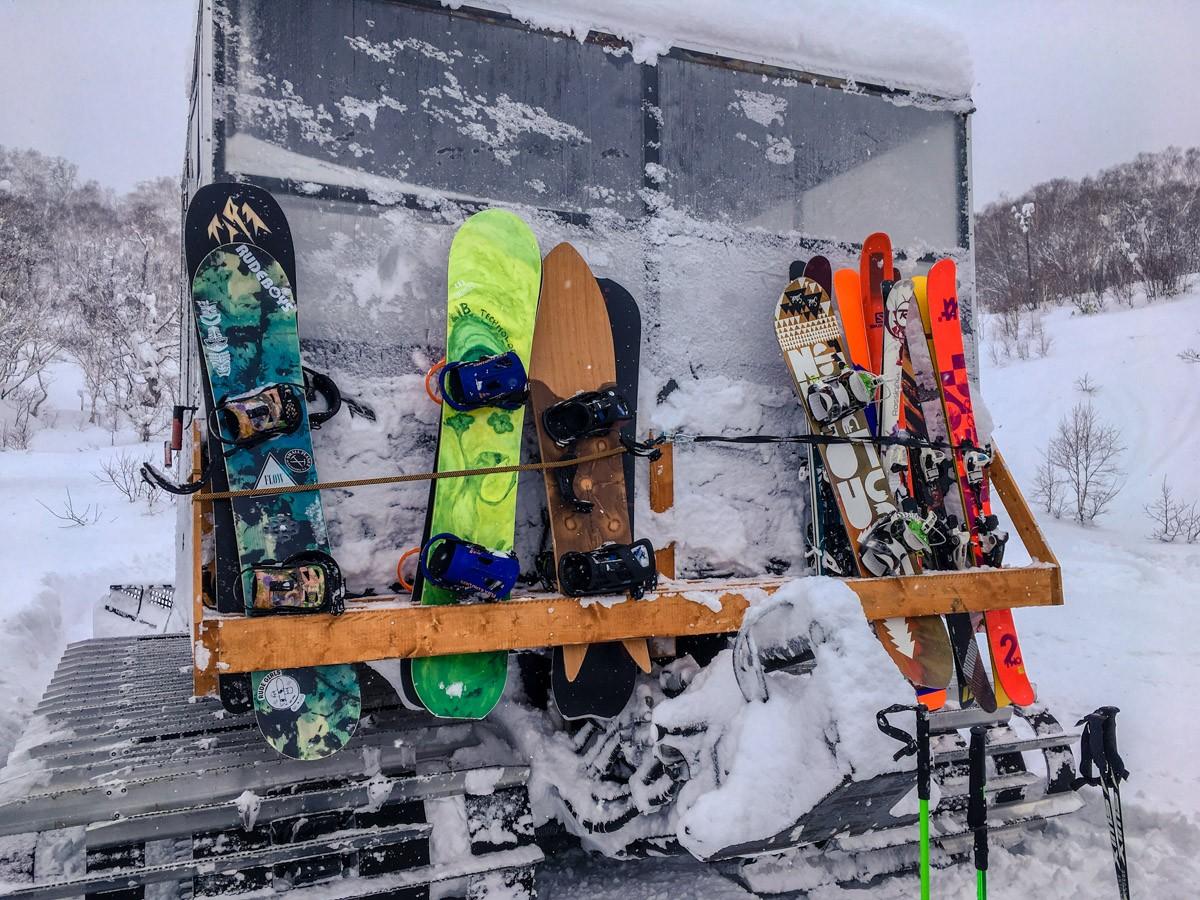 Chisenupuri Cat Skiing - Skis and Snowboards