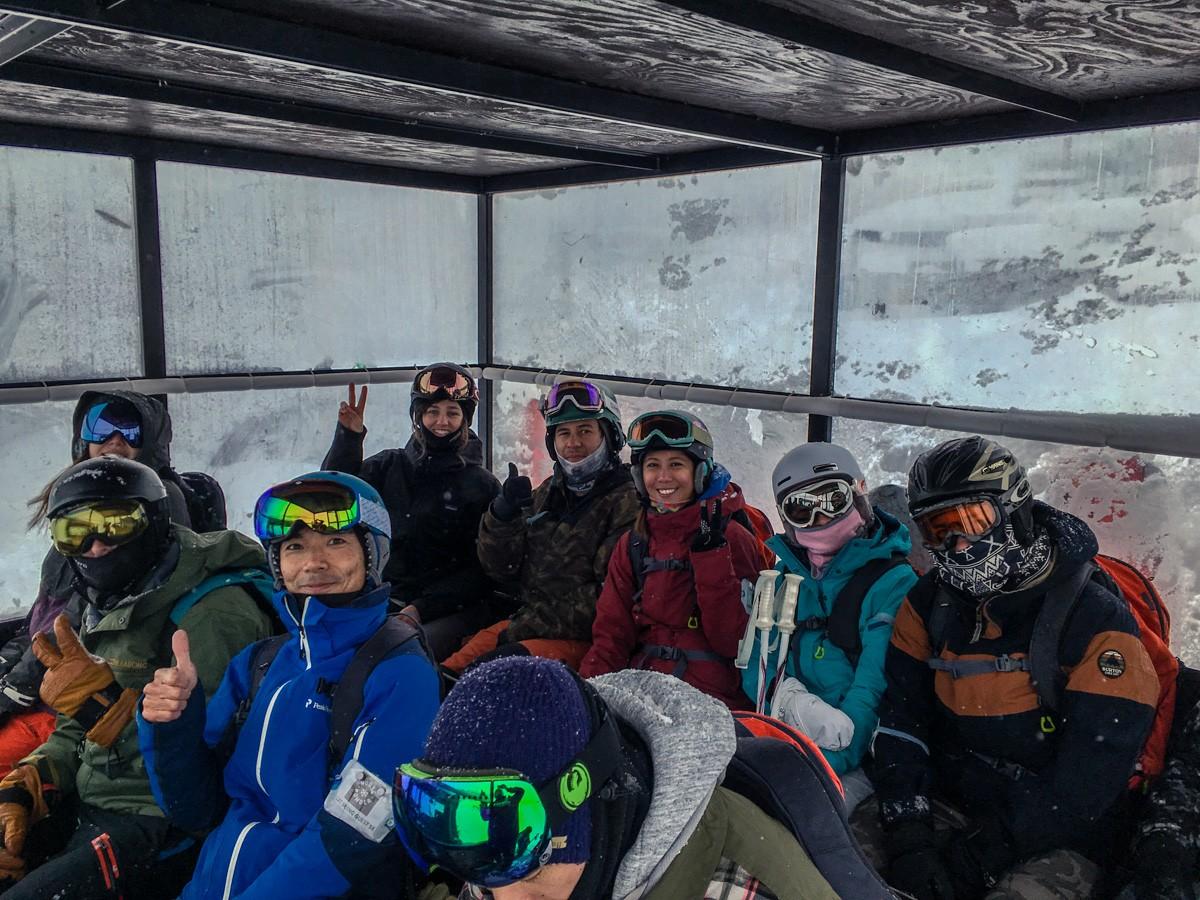 Chisenupuri Cat-Skiing - Cabin