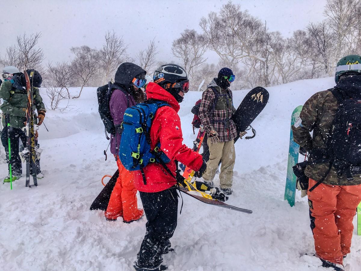 Chisenupuri Cat-Skiing - At the Top