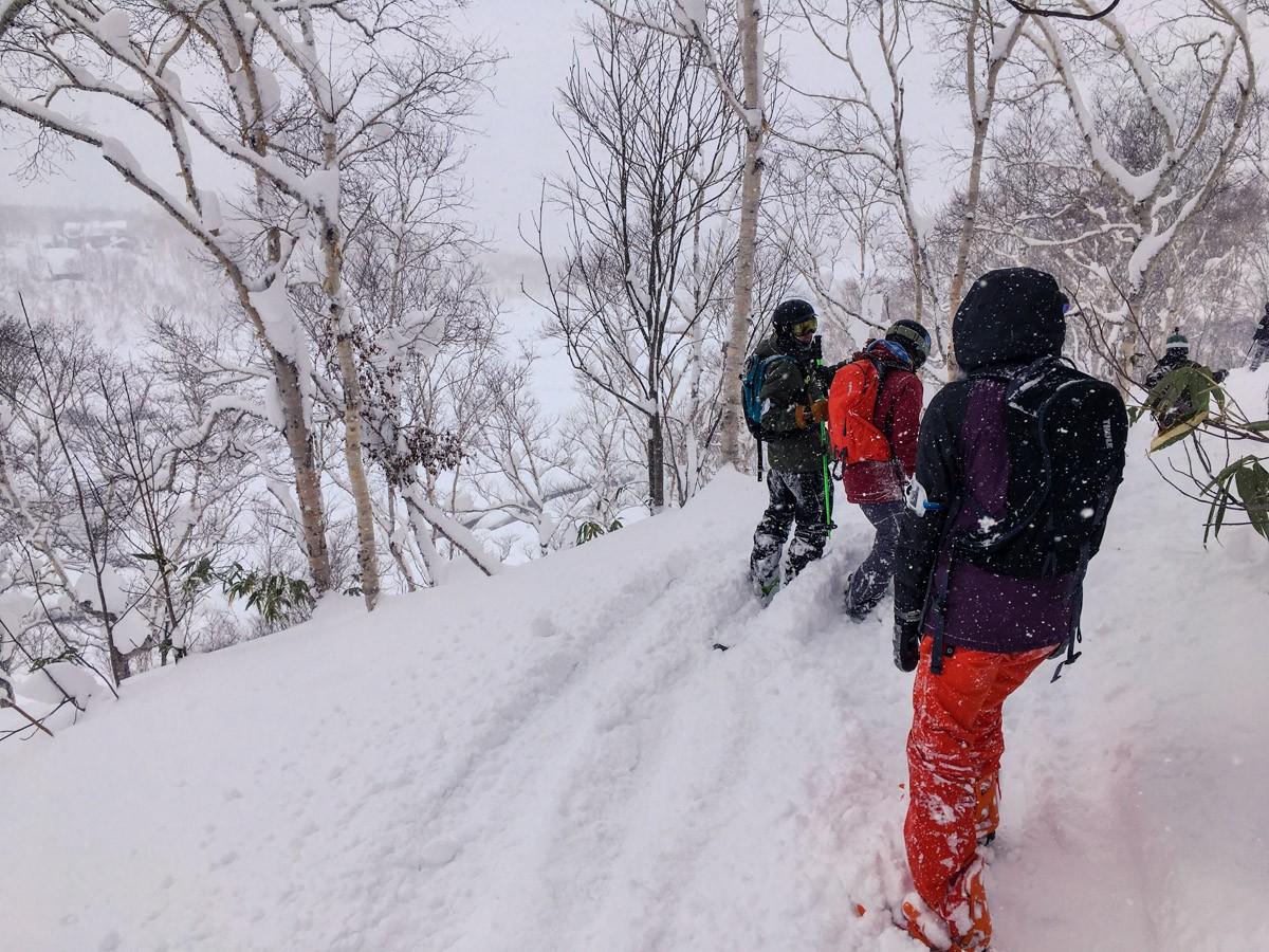 Chisenupuri Cat Skiing - Traversing