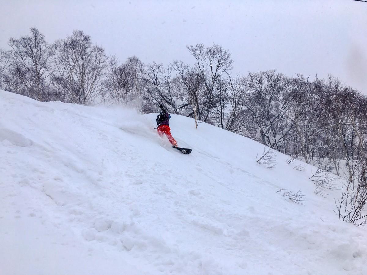 Chisenupuri Cat Skiing - Powder Turns