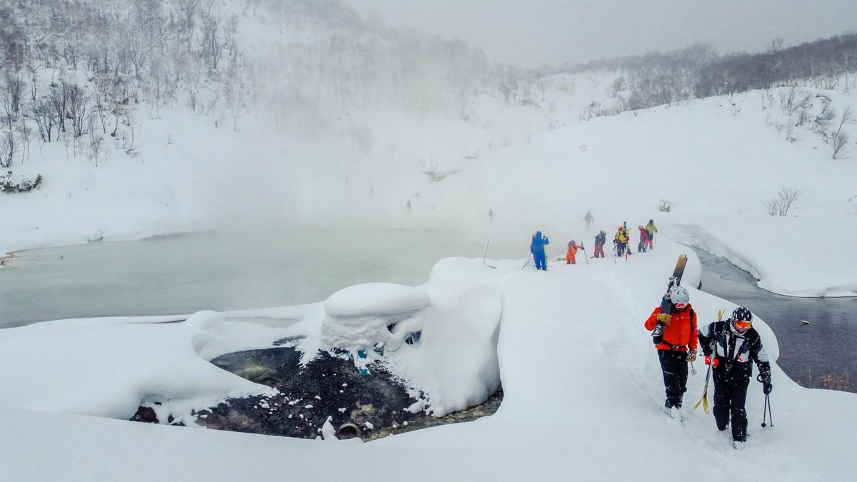 Chisenupuri Cat Skiing - Onsens