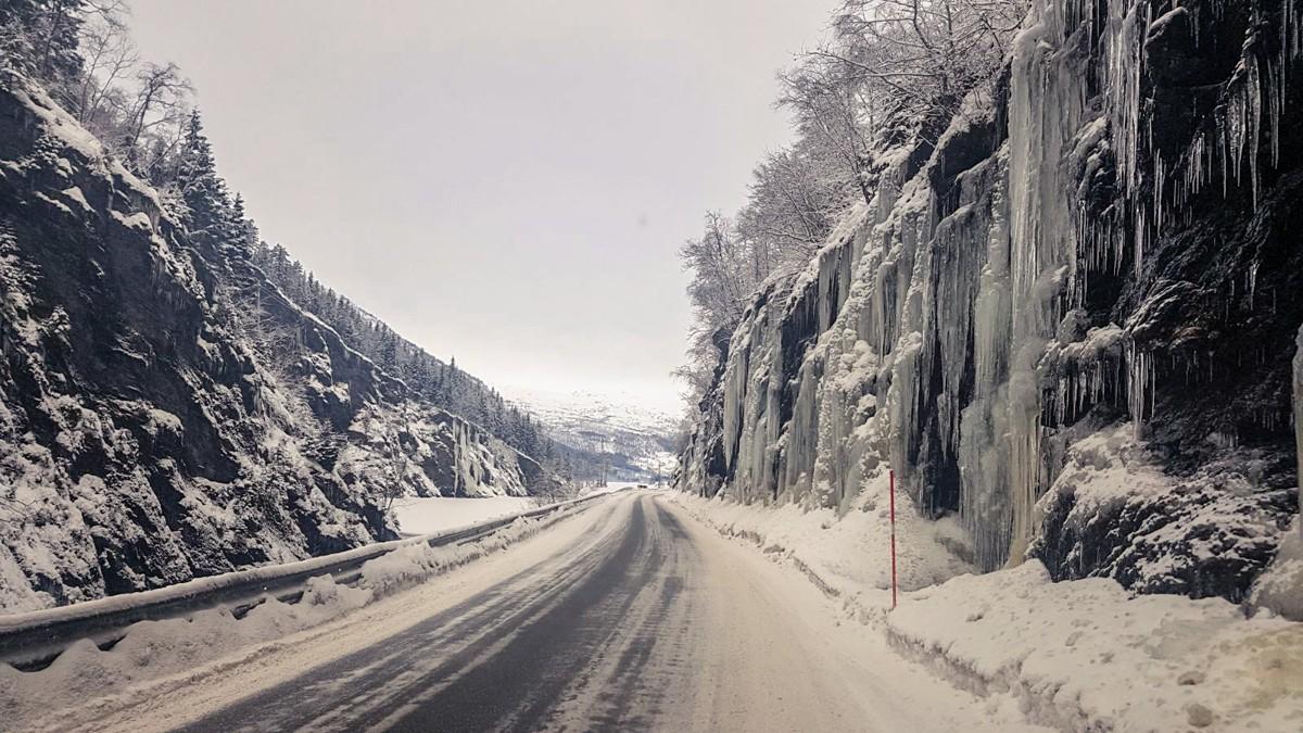 Myrkdalen Transfer Scenery