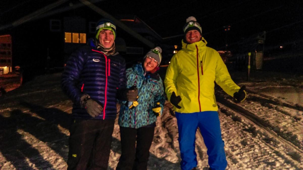 Myrkdalen Snow Shoeing