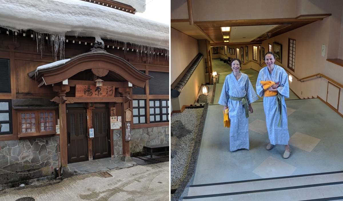 Vicky and Victoria Onsen Visit