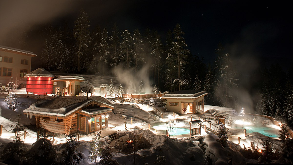Scandinave Spa Whistler © Scandinave Spa / Chad Chomlack