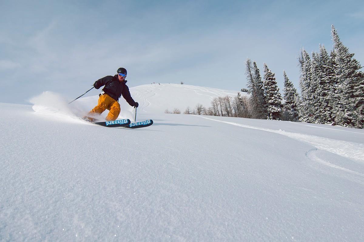 Powder Mountain Baldy Powder Piste Skier © Jake Nelson Photography