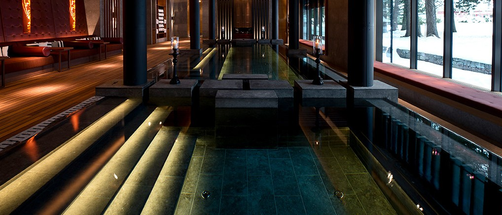 Chedi Andermatt Spa Hydrothermal Pool