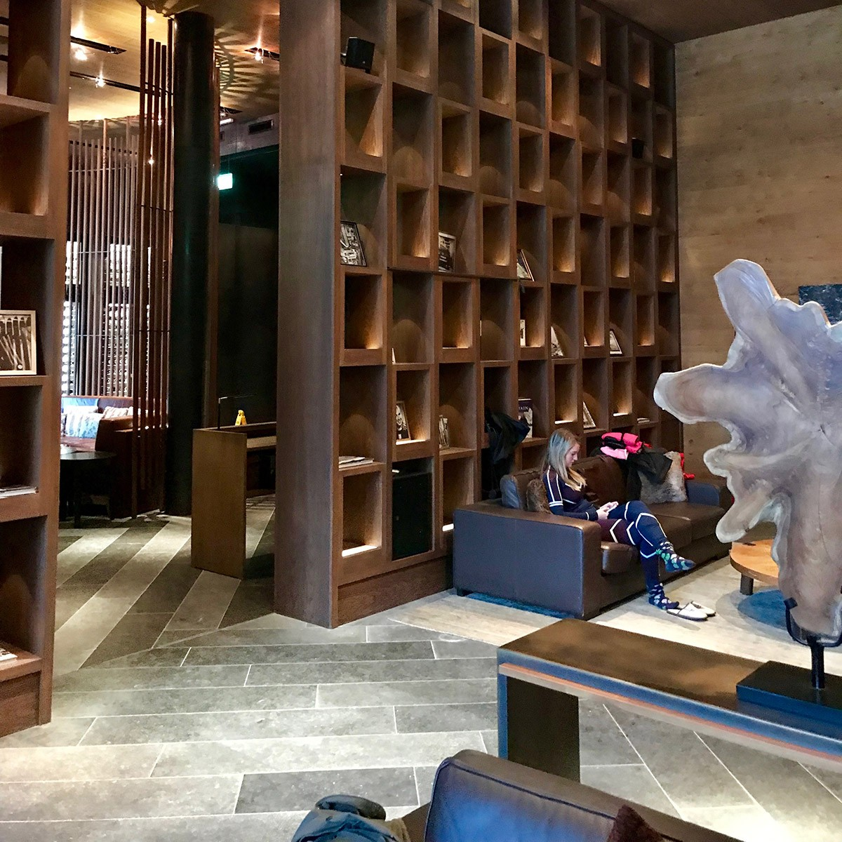 The Chedi Living Room Ski Fit