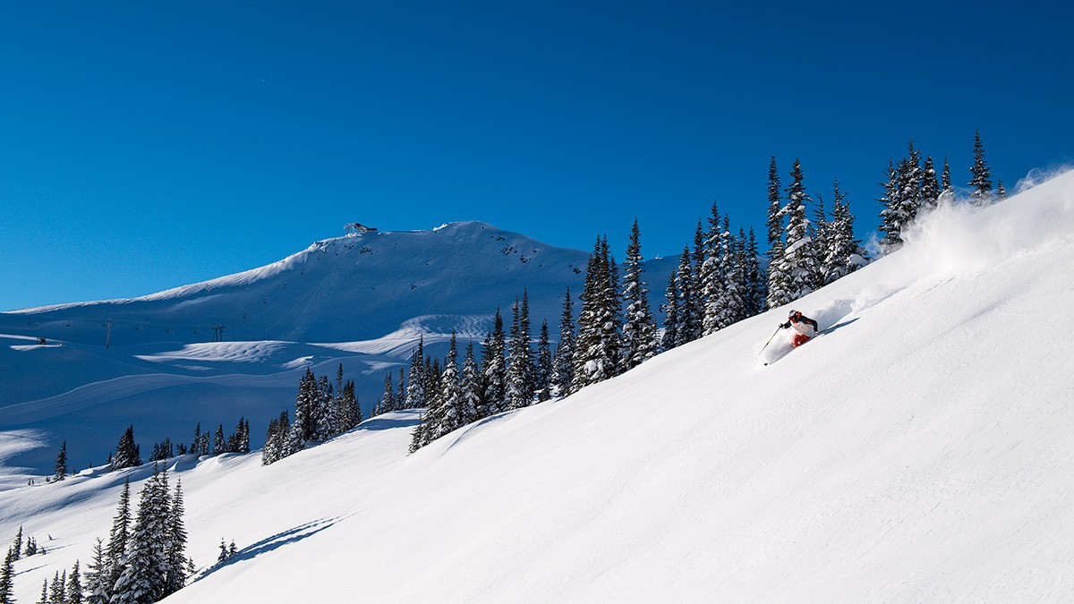 Whistler on a classic bluebird day © Eric Berger