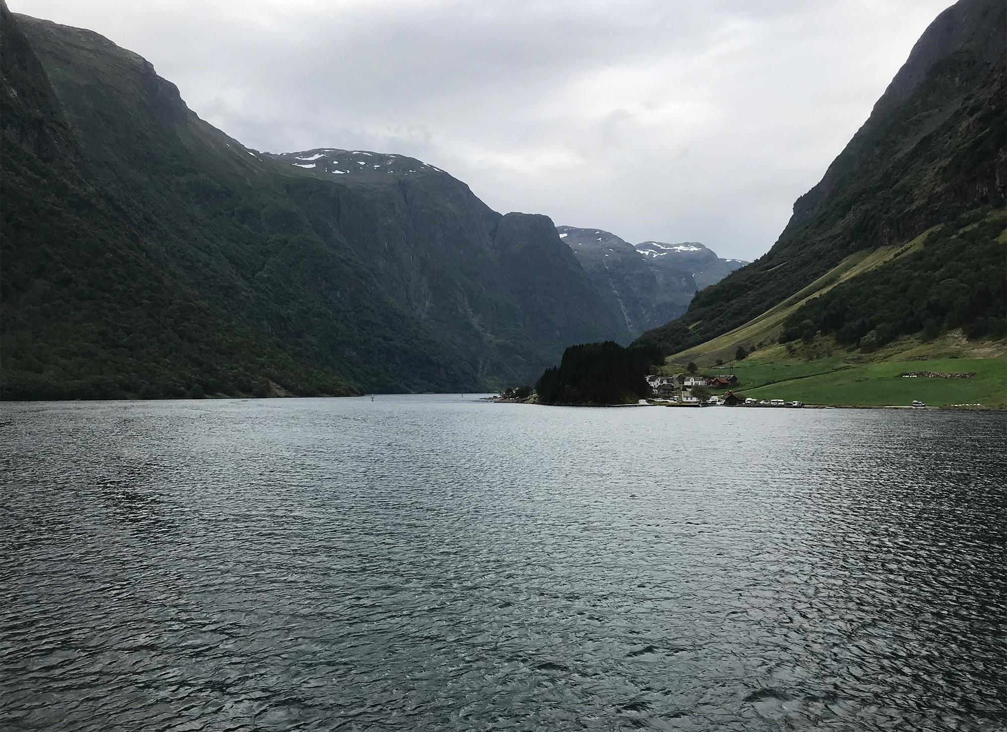 Aurlandsfjord Norway Summer 2018