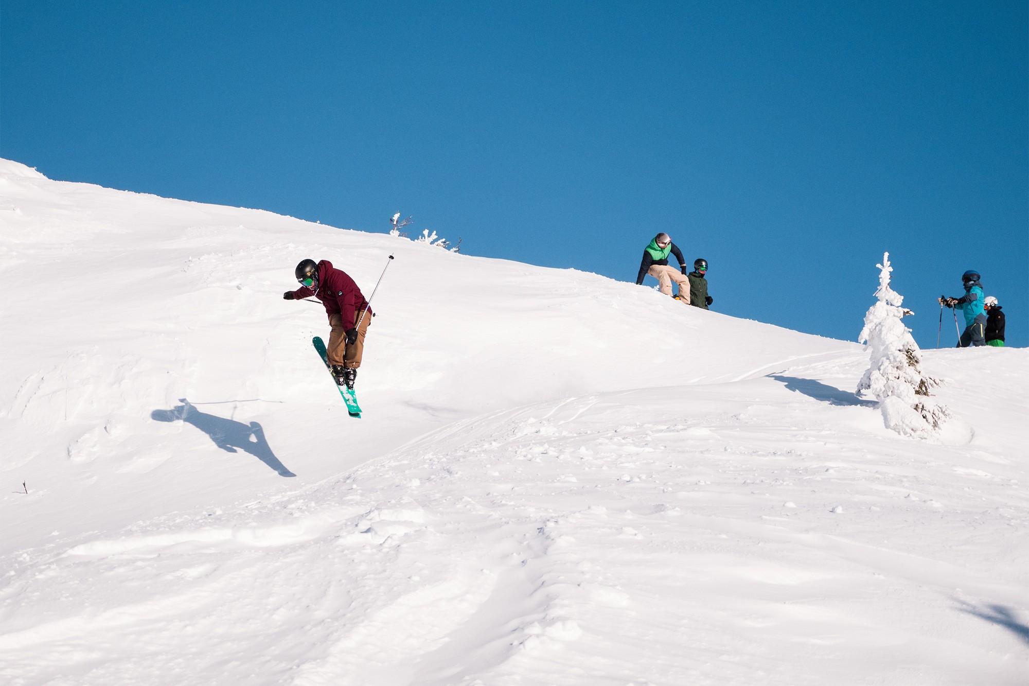 Jack Off-Piste in Kvitfjell
