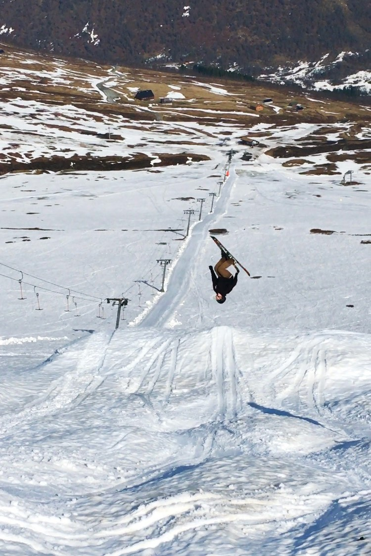 Jack Backflip in Myrkdalen, Norway