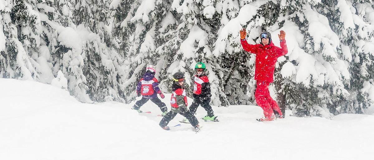 Trysil Ski School & Trees © Ola Matsson / SkiStar