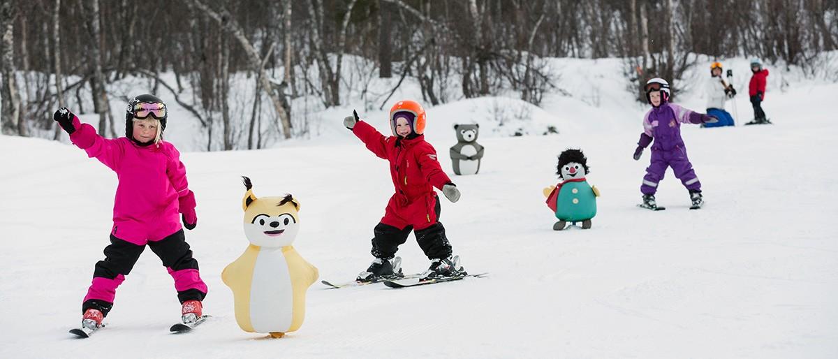Geilo - Kids Skiing © Emile Holba