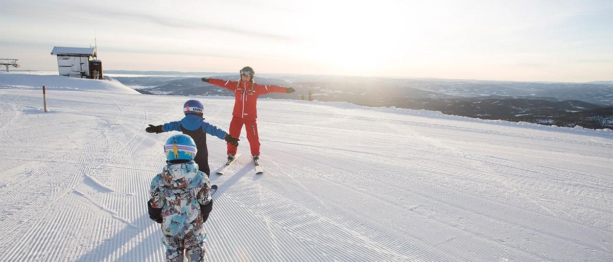 Norefjell Ski School © Kalle Hagglund