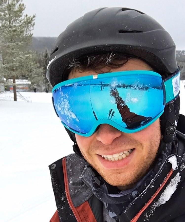 Ben Ski Selfie