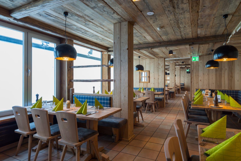 Engelberg Titlis Panorama Restaurant © Engelberg-Titlis