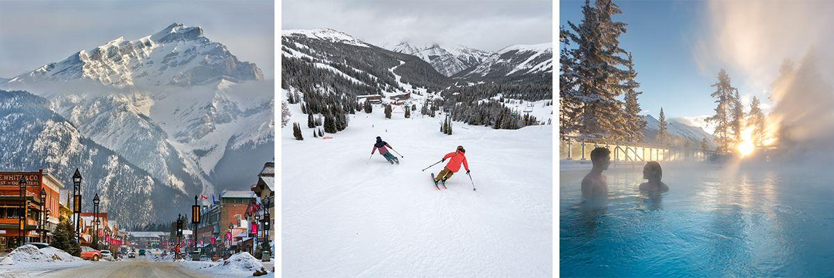 Banff Ski Holidays © Banff Lake Louise Tourism