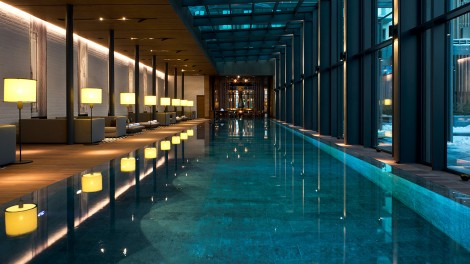 The Chedi Andermatt Indoor Pool