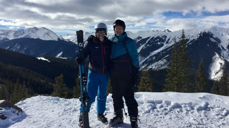 James With His Dad at Aspen Snowmass December 2018