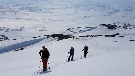 Ski Touring In Riksgransen