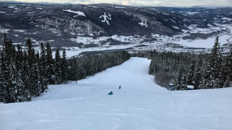 Quiet Slopes in Hafjell