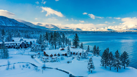Edgewood Tahoe Hotel after Heavy Snow © Brian Walker Photography