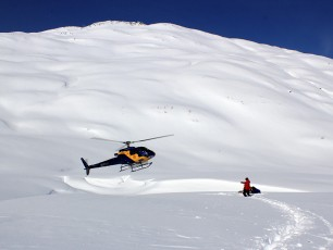 Chugach Powder Guides Landing