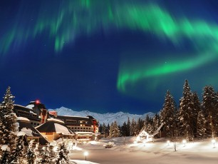 Alyeska Resort Northern Lights © TBA / David Kirsch