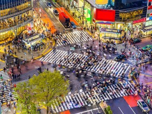 Tokyo Busy Crossing